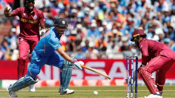 dhoni west indies